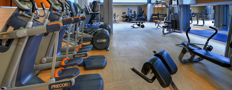 Im Fitness Center können Sie sich Ihrem Training hingeben
