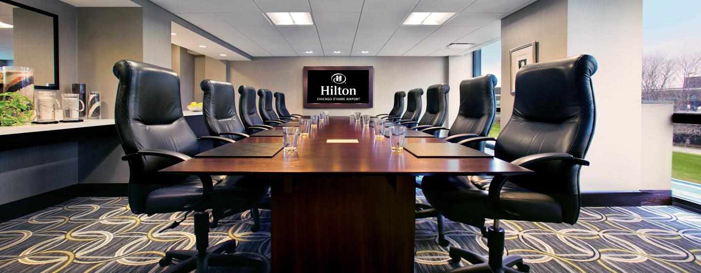 Hilton Chicago O'Hare Airport - Sala de diretoria executiva
