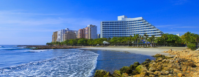 Bienvenido al hotel Hilton Cartagena, Colombia