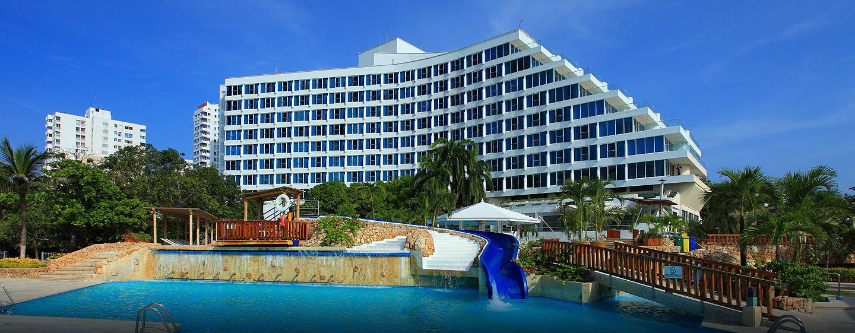 Hotel Hilton Cartagena, Colombia - Exterior del hotel