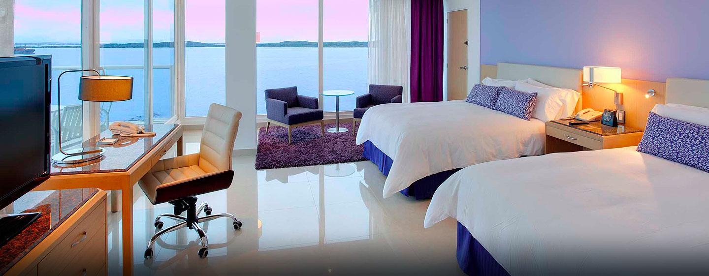 Hilton Cartagena Hotel, Kolumbien – Alkoven Suite mit Meerblick