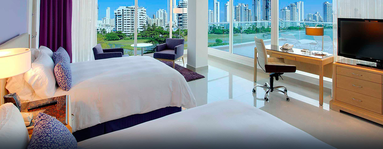 Hilton Cartagena Hotel, Kolumbien – Alkoven Suite mit Stadtblick