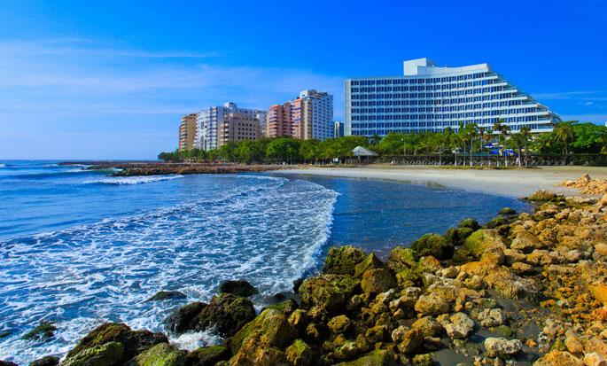 Hotel Hilton Cartagena, Colombia - Fachada del hotel