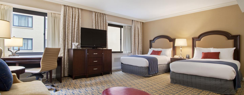 Capital Hilton - quarto - duas camas de casal