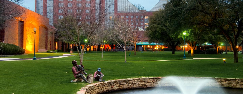 Hilton Anatole, Dallas TX - Fachada del hotel
