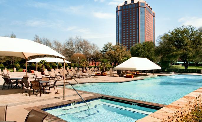 Hilton Anatole, Dallas TX - Piscina al aire libre