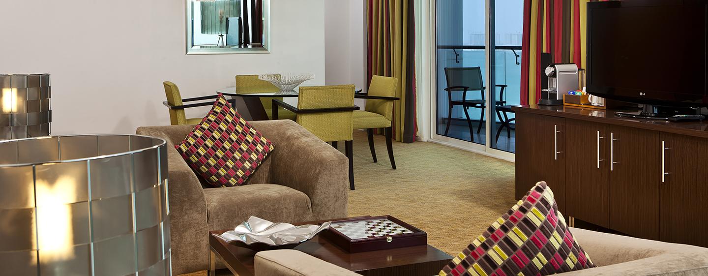 Hilton Doha Hotel, Katar– Wohnbereich der Präsidenten Suite