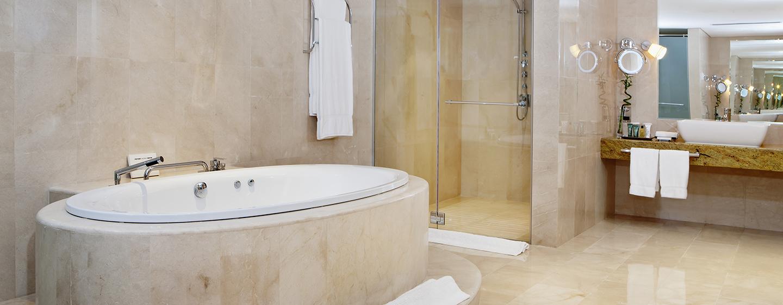 Hilton Doha Hotel, Katar– Badezimmer der Präsidenten Suite