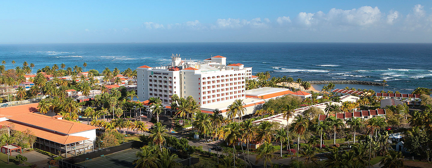 Embassy Suites Dorado Del Mar Beach Resort, Puerto Rico - Vista aérea
