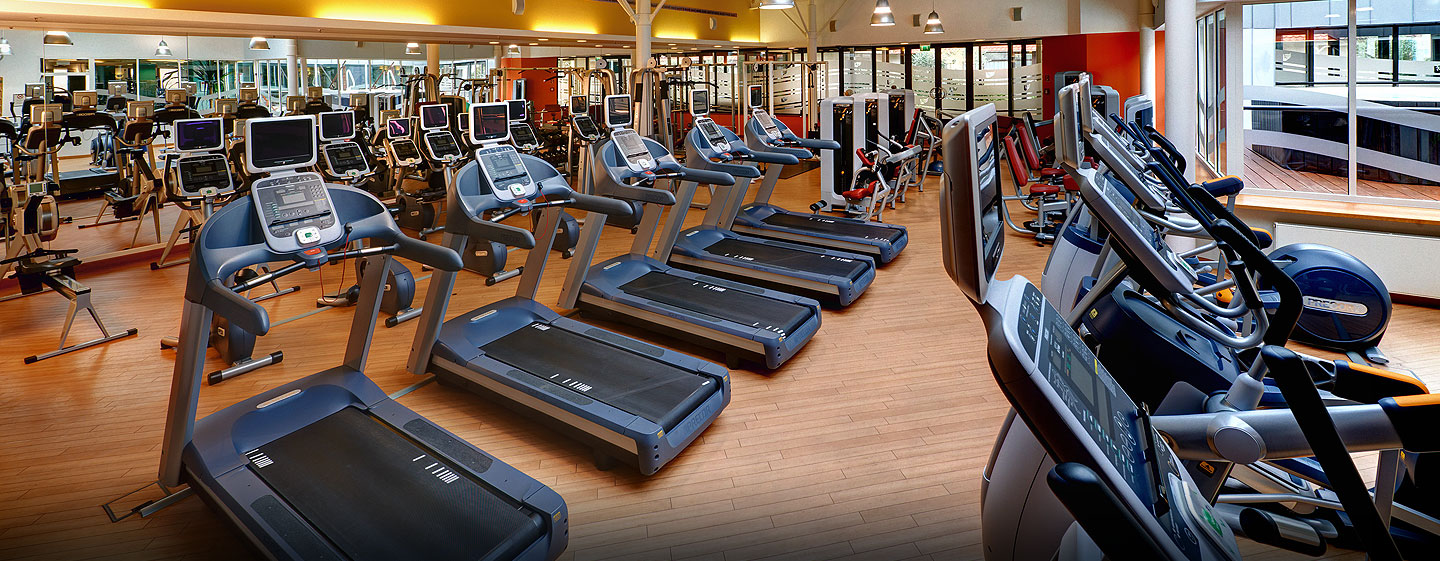 Hilton Dresden Hotel – LivingWell Fitness Club – Fitnessbereich