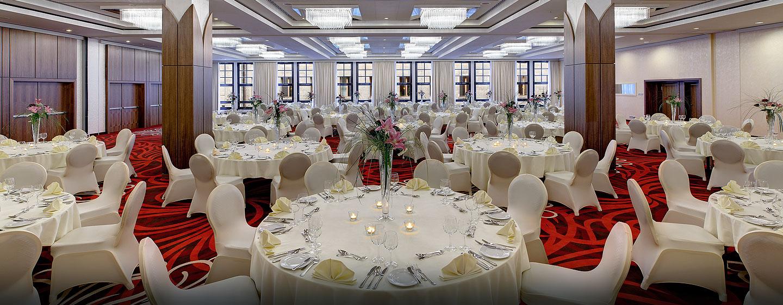 Im Ballsaal können Events mit bis zu 550 Gästen veranstaltet werden