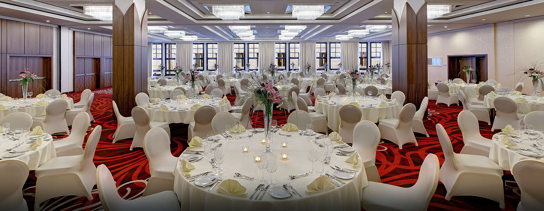 Hilton Dresden Hotel – Ballsaal für Gala-Events