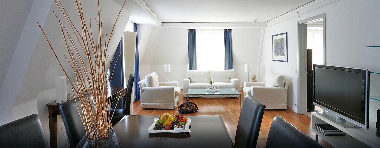 Hilton Dresden Hotel– Eck-Suite