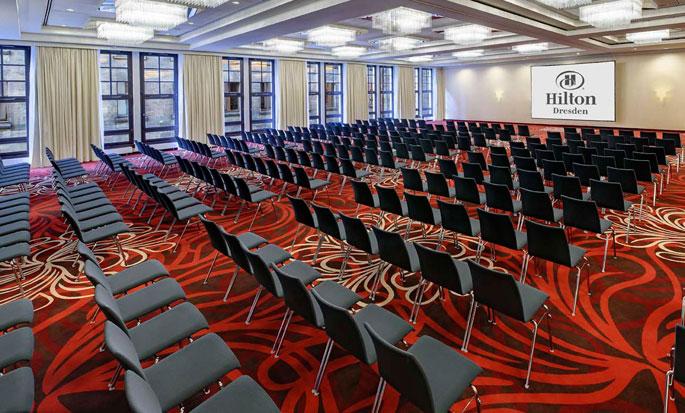 Hilton Dresden hotel, Deutschland - Meetingraum