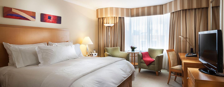 Conrad Dublin hotel, Irland - Premium Zimmer mit King-Size-Bett
