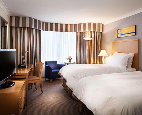 Conrad Dublin hotel, Irland - Premium Zweibettzimmer mit Ausblick