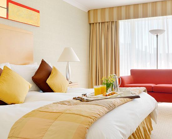 Conrad Dublin hotel, Irland - Superior Zimmer mit einem King-Size-Bett