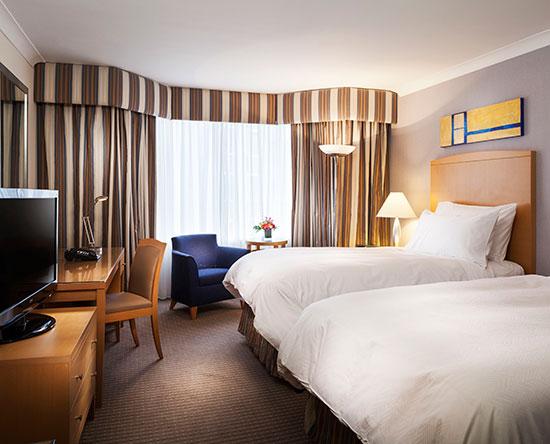 Conrad Dublin hotel, Irland - Superior Zweibettzimmer mit Balkon