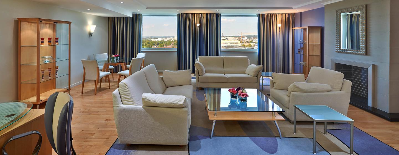 Separate Wohn-und Schlafzimmer sind für die Ambassador Suite ein muss