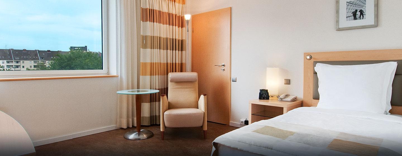 Hilton Düsseldorf, Deutschland – barrierefreies Zimmer