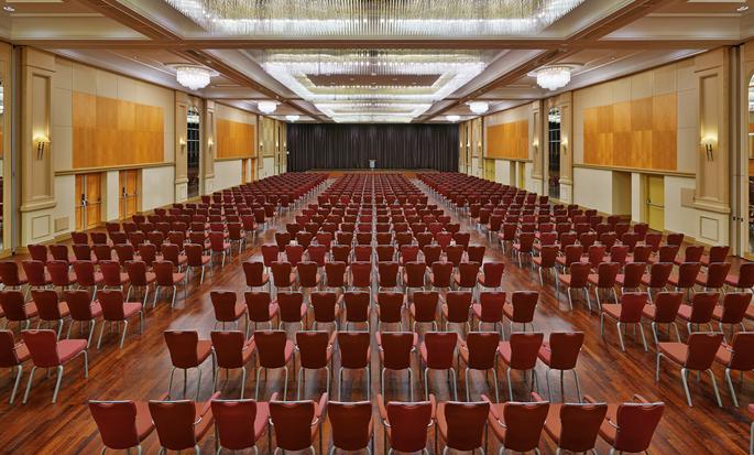 Hôtel Hilton Dusseldorf, Allemagne - Salle de conférence