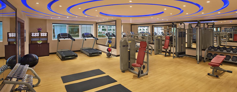Im gut ausgestatteten Fitness Center des Hotels, können Sie ungestört Ihrem Workout nachgehen