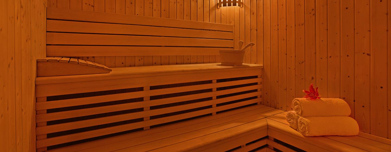 Die Sauna steht den Gösten kostenfrei zur Verfügung