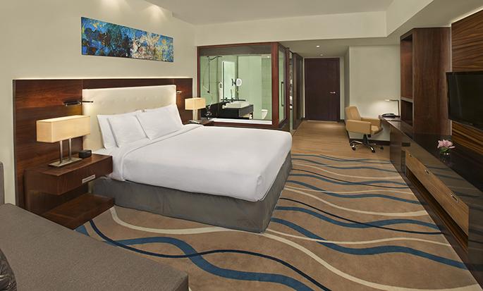 DoubleTree by Hilton Hotel Dubai - Al Barsha- Guest Room