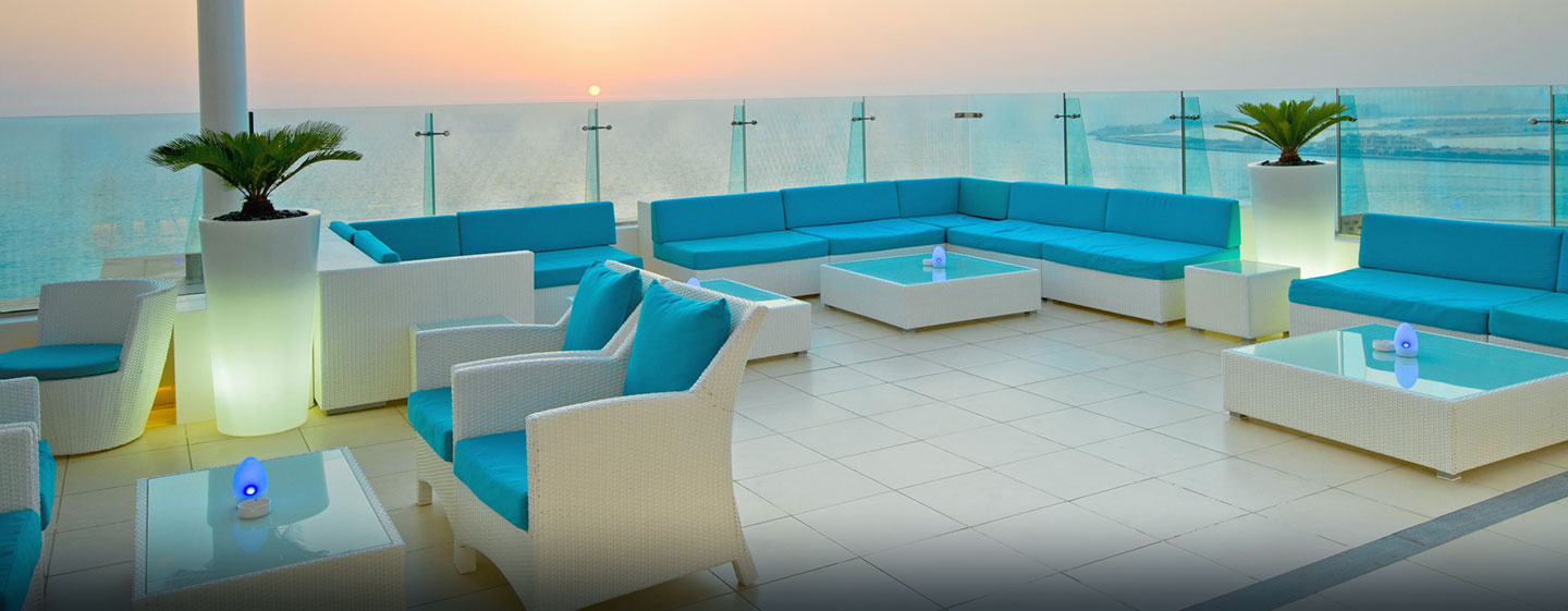 Hilton Dubai The Walk, VAE – PURE Sky Lounge