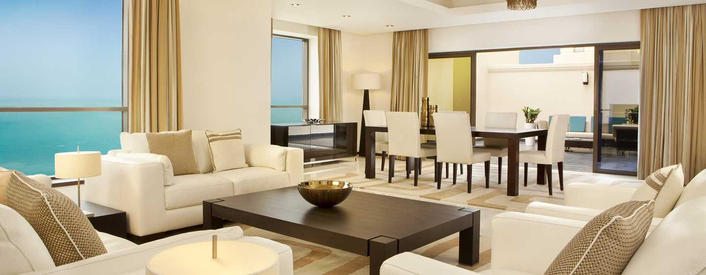 Hilton Dubai The Walk Hotel, VAE – Apartment mit vier Schlafzimmern