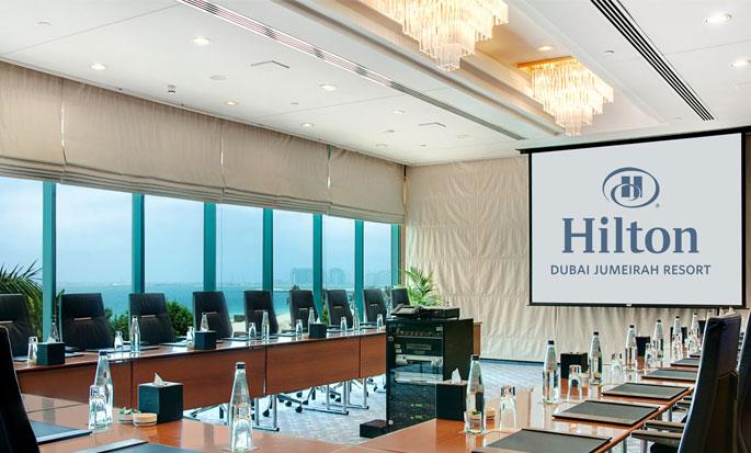 Hotel Hilton Dubai The Walk, EAU - Sala Meeting Almas