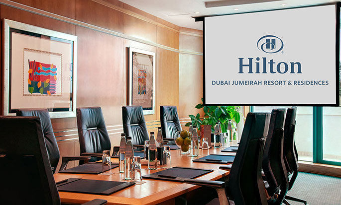 Hotel Hilton Dubai The Walk, EAU - Sala per assemblee Fidda