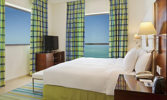 Hotel Hilton Dubai The Walk, EAU - Camera con letto matrimoniale
