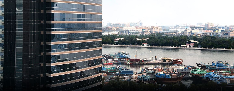 Hotel Hilton Dubai Creek, EAU - Esterno dell'hotel