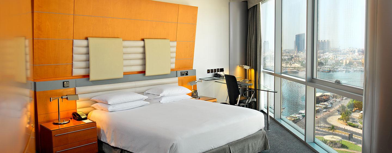 Hotel Hilton Dubai Creek, EAU - Camera standard con letto queen size