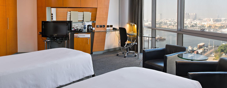 Hotel Hilton Dubai Creek, EAU - Camera Deluxe con letti separati