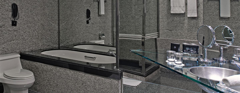 Hotel Hilton Dubai Creek, EAU - Bagno della suite Deluxe