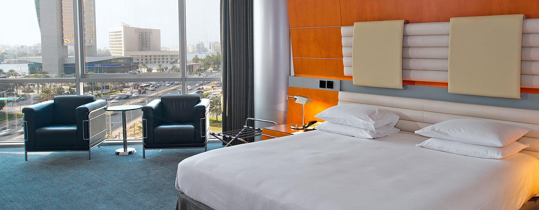 Hotel Hilton Dubai Creek, EAU - Camera Deluxe con letto king size
