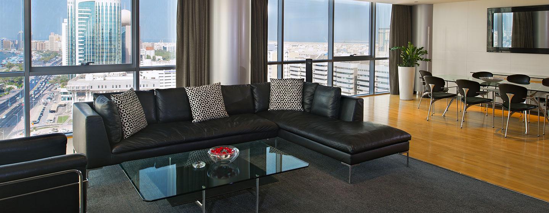 Hotel Hilton Dubai Creek, EAU - Suite Executive con letto king size