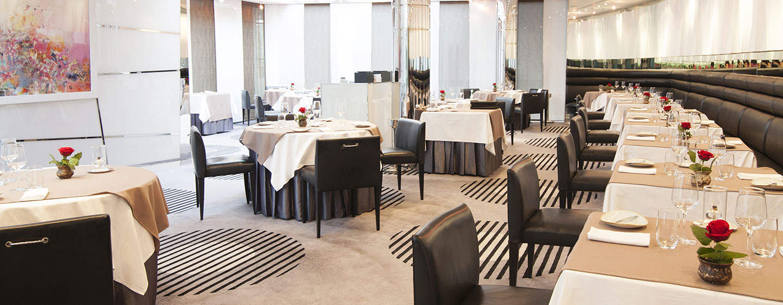 Hotel Hilton Dubai Creek, EAU - Ristorante Table 9