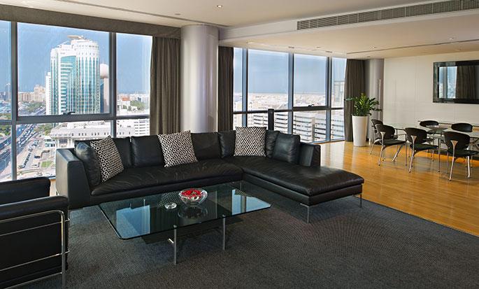 Hotel Hilton Dubai Creek, EAU - Suite