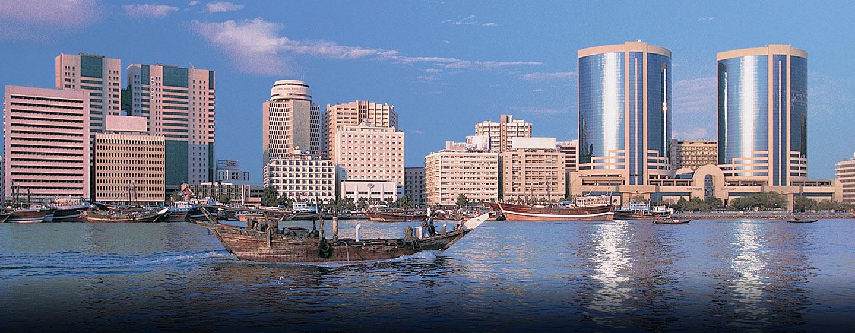 Das Hotel ist der ideale Ausgangspunkt um die interessante Stadt Dubai zu entdecken