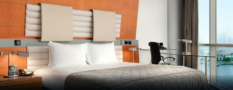 Genießen Sie Schlafkomfort im komfortablen Deluxe Zimmer des Hotels
