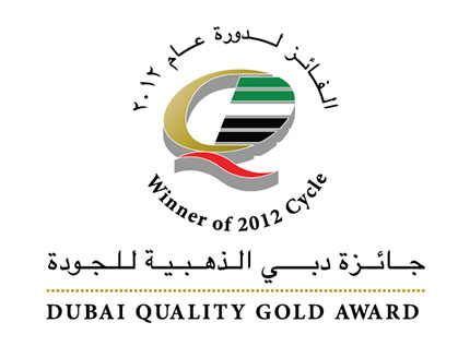Récompense Dubai Quality Gold Award