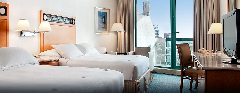 Hôtel Hilton Dubai Jumeirah Resort, EAU - Chambre Hilton de luxe Plus avec lits jumeaux
