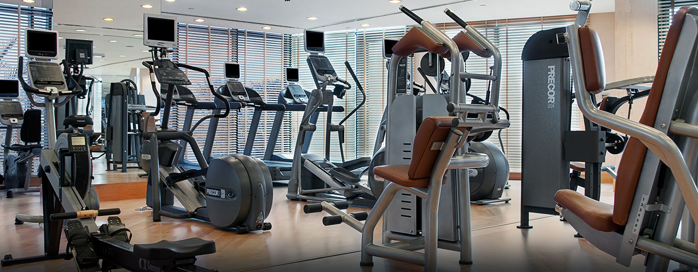 Hilton Dubai Jumeirah Resort, VAE – Fitness Center