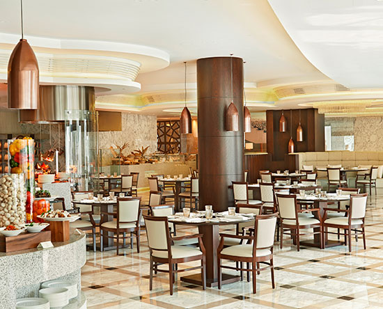 Waldorf Astoria Dubai Palm Jumeirah, Förenade Arabemiraten – Mezzerie