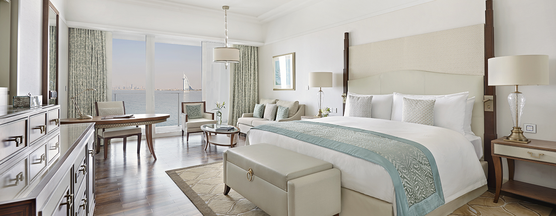 Hotel Waldorf Astoria Dubai Palm Jumeirah, EAU - Camera Deluxe con letto King size, vista sul mare e sullo skyline