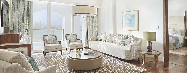 Hotel Waldorf Astoria Dubai Palm Jumeirah, EAU - Soggiorno della Suite