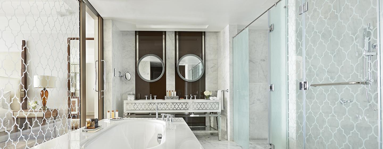 Hotel Waldorf Astoria Dubai Palm Jumeirah, EAU - Bagno della Suite